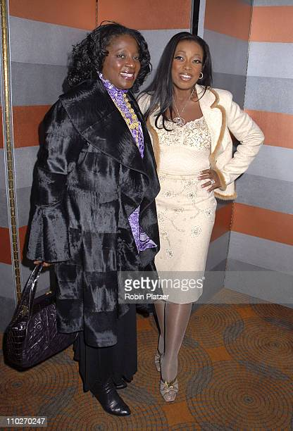 LaTonya Richardson and Star Jones Reynolds during The 3rd Annual Authors In Kind Luncheon Benefiting God's Love We Deliver Inside Arrivals at The...