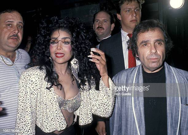 LaToya Jackson and Jack Gordon during Grand Opening Celebration of The A S Store In Herald Square at A S Store in New York City New York United States