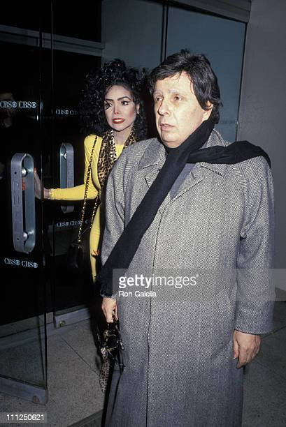 LaToya Jackson and Jack Gordon during LaToya Jackson's In Depth Interview With Joan Rivers at CBS Broadcast Center in New York City New York United...