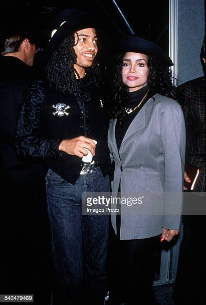 Latoya Jackson and Terence Trent D'Arby circa the 1980s