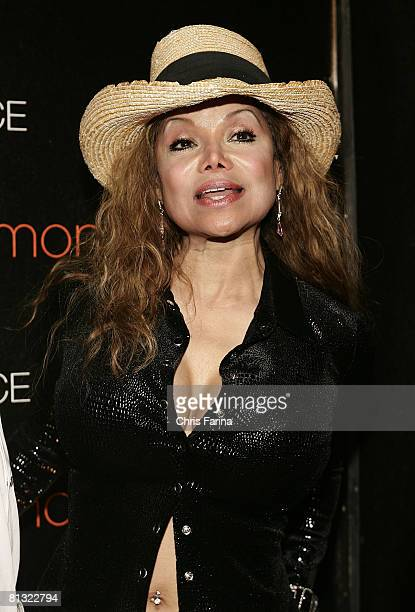 LaToya Jackson arrives at the grand opening of Palms Place Hotel & Spa, Palms Las Vegas on May 31, 2008 in Las Vegas,Nevada.