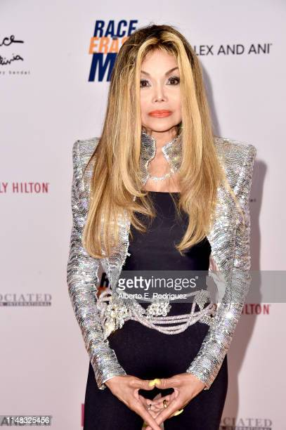 LaToya Jackson attends the 26th Annual Race to Erase MS Gala at The Beverly Hilton Hotel on May 10 2019 in Beverly Hills California