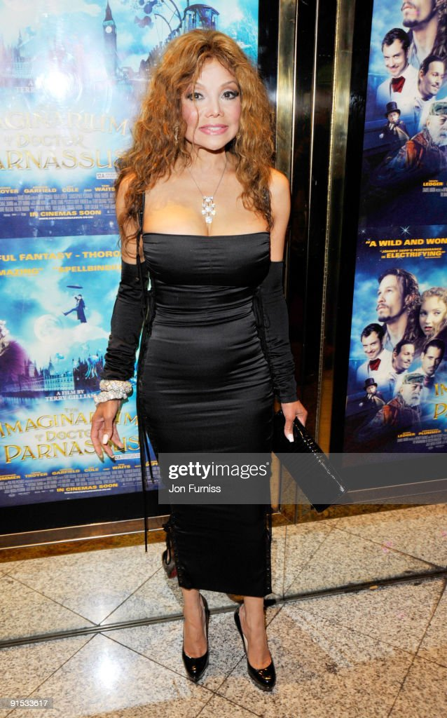 Latoya Jackson attends the UK Premiere of 'The Imaginarium Of Doctor Parnassus' at the Empire Leicester Square on October 6, 2009 in London, England.
