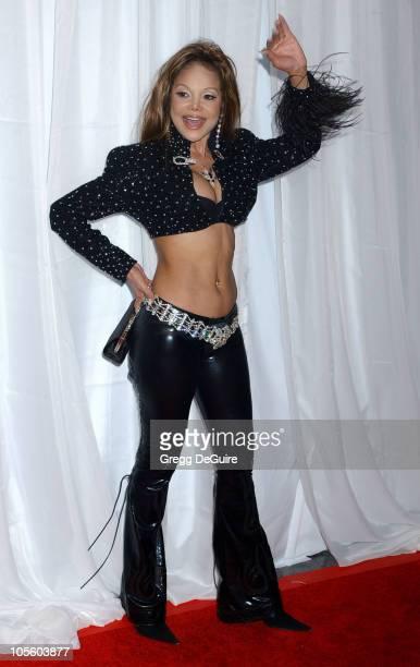 LaToya Jackson during 2004 World Music Awards Arrivals at The Thomas and Mack Center in Las Vegas Nevada United States