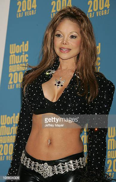 LaToya Jackson during 2004 World Music Awards Press Room at Thomas and Mack Center in Las Vegas Nevada United States