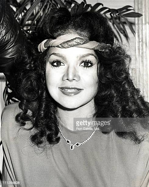 LaToya Jackson during 2nd Annual American Video Awards Nominees Announcement at Kathy Gallagher's Restaurant in Los Angeles California United States
