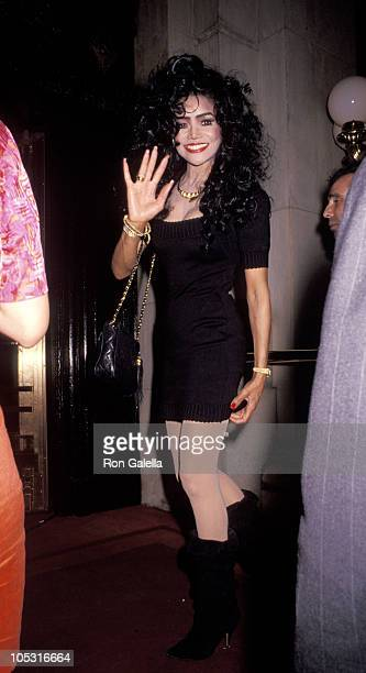 Latoya Jackson during Marla Maples Joins the Cast of 'Follies' at Palace Theater in New York City New York United States