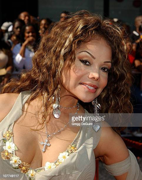 LaToya Jackson during The 3rd Annual BET Awards Arrivals at The Kodak Theater in Hollywood California United States