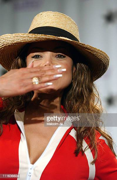 Latoya Jackson during The 3rd Annual BET Awards Electronic Pressroom at The Kodak Theater in Hollywood California United States