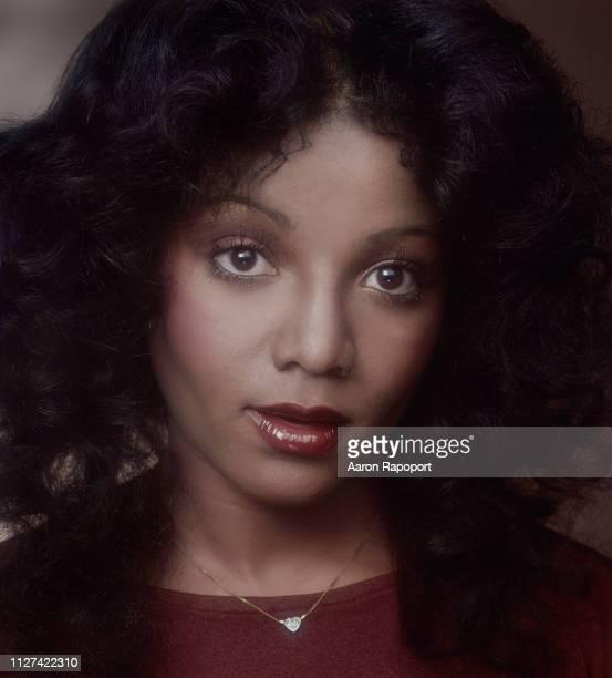 LaToya Jackson sister of Michael Jackson poses for a portrait in Hollywood California