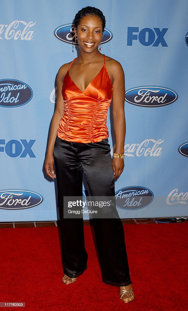 Latoya London during 'American Idol' Season 4 - Top 12 Finalists Party at Astra West in West Hollywood, California, United States.