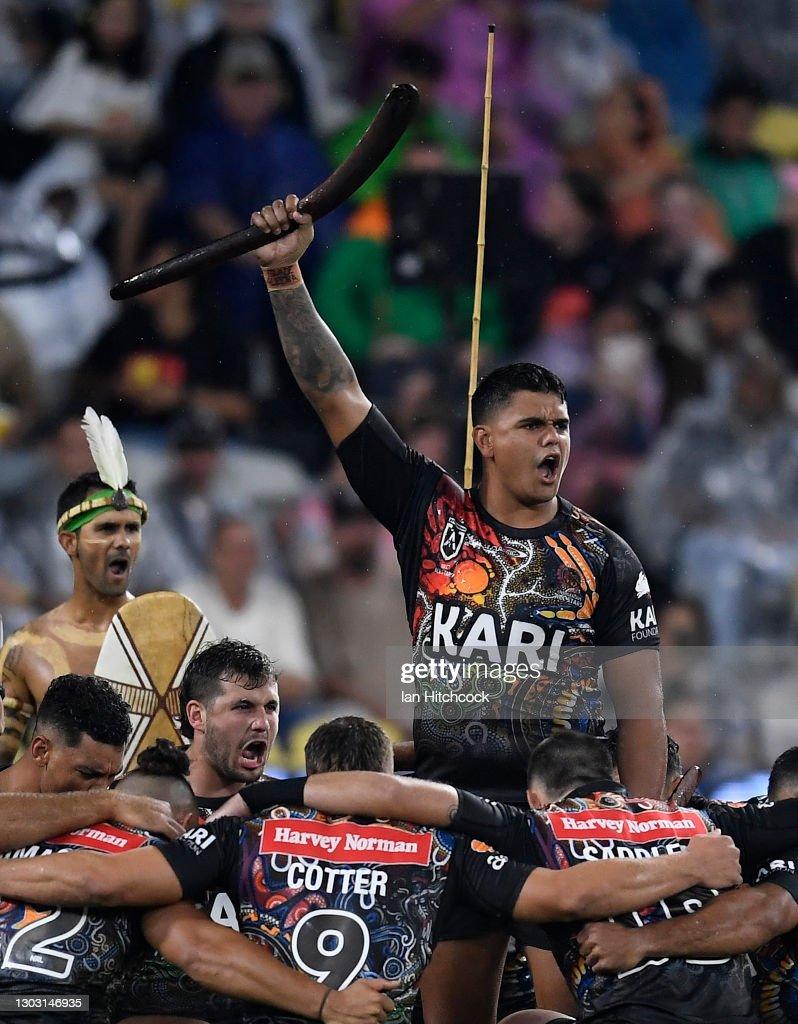 NRL All Stars game - Indigenous v Maori Men's : News Photo