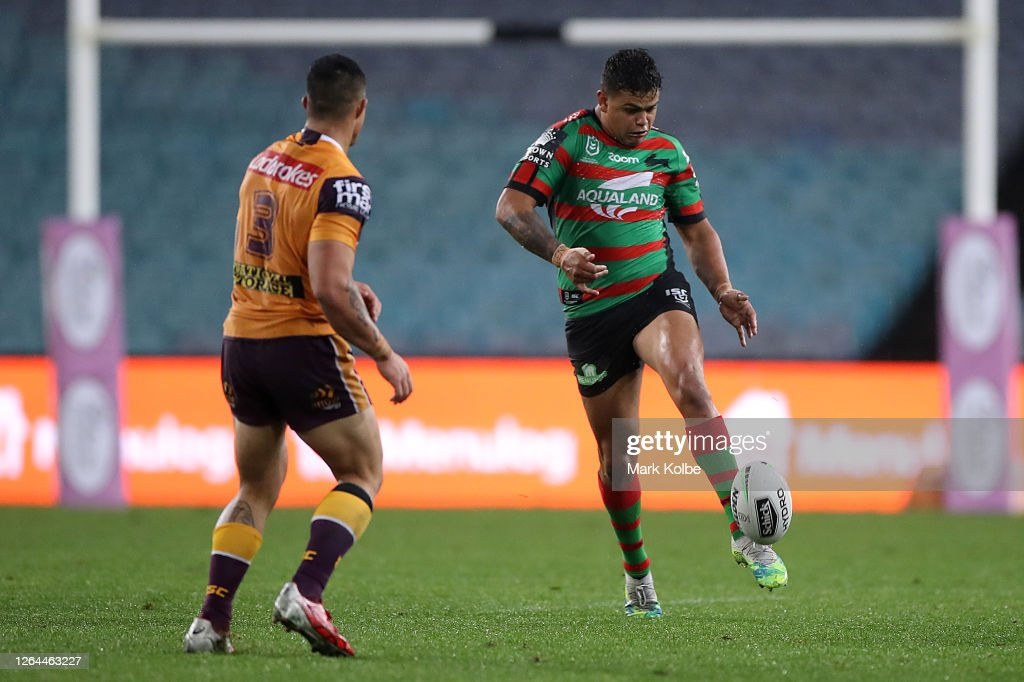 NRL Rd 13 - Rabbitohs v Broncos : News Photo