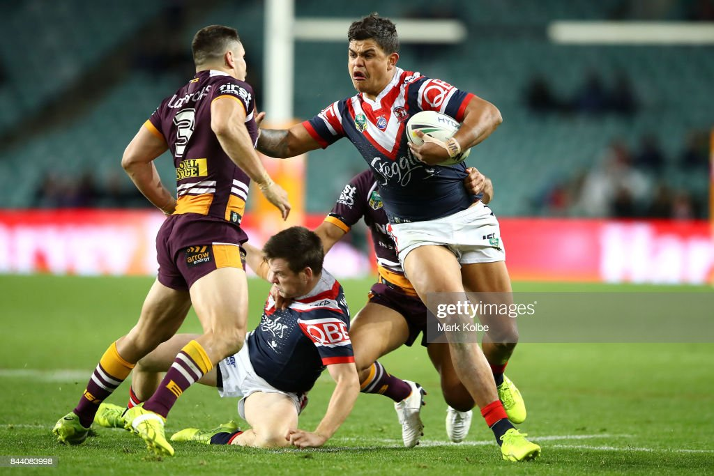 NRL Qualifying Final - Roosters v Broncos : News Photo