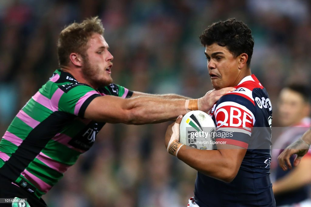NRL Rd 22 - Rabbitohs v Roosters : News Photo