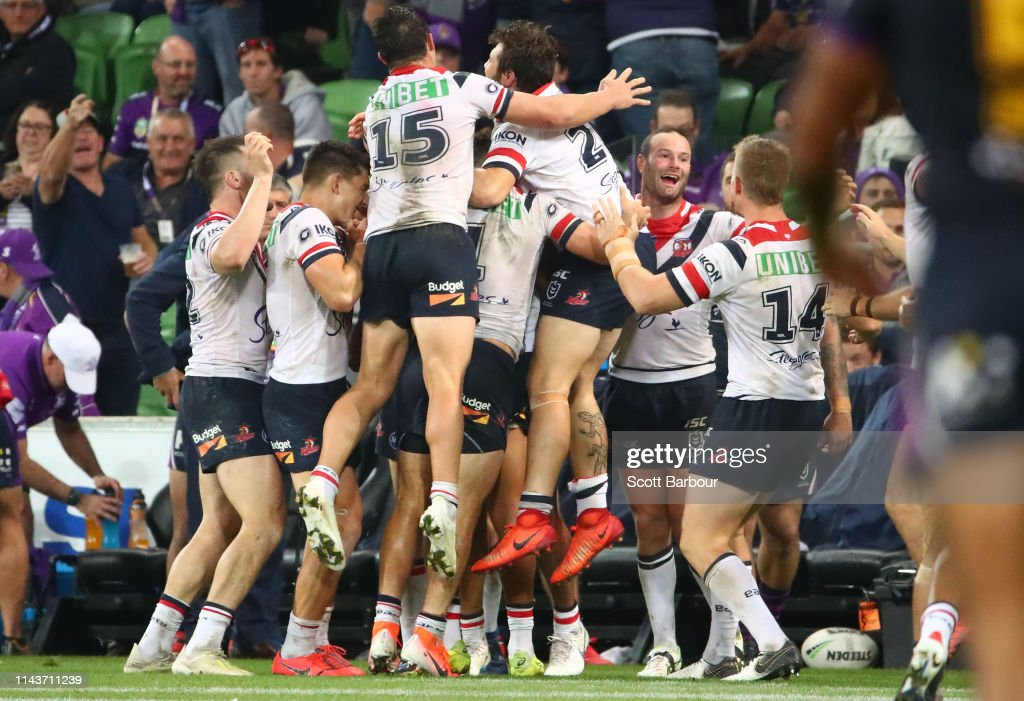 NRL Rd 6 - Storm v Roosters : News Photo