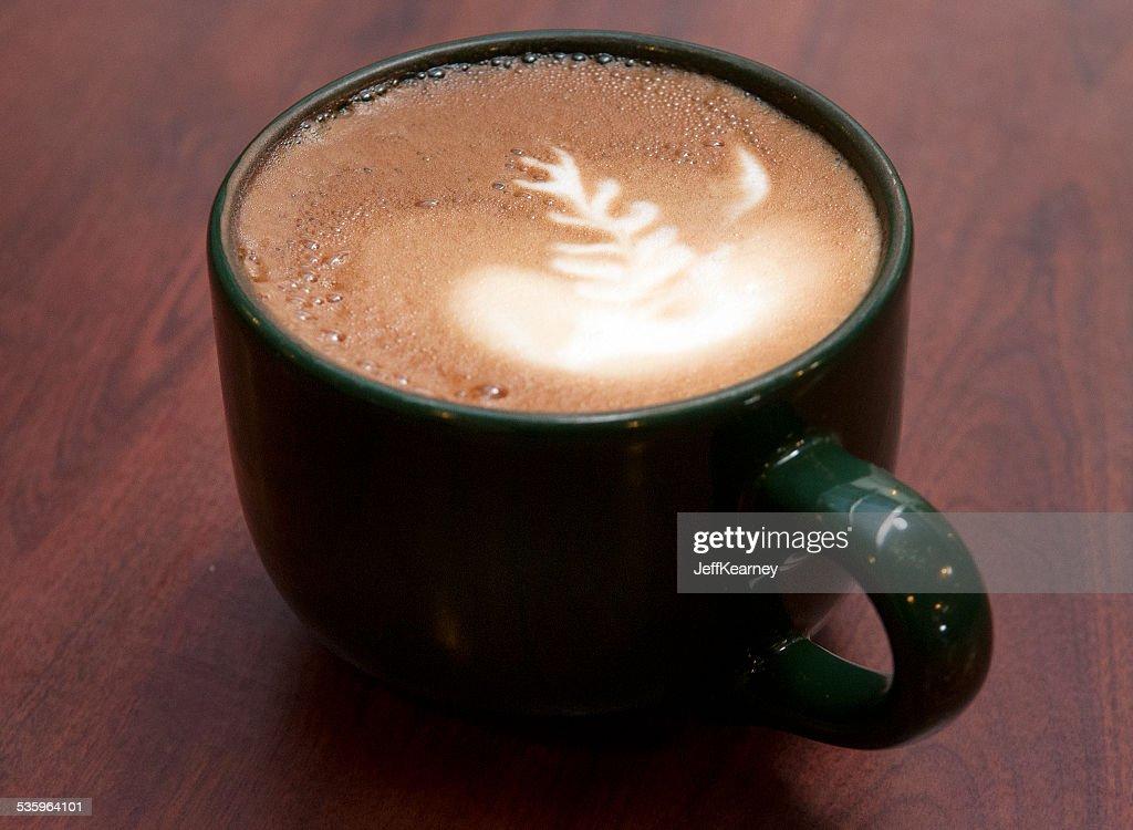 Latte Angled : Stock Photo