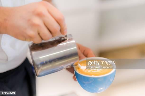 Latte Art the making of