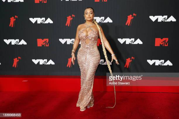 Latto attends the 2021 MTV Video Music Awards at Barclays Center on September 12, 2021 in the Brooklyn borough of New York City.