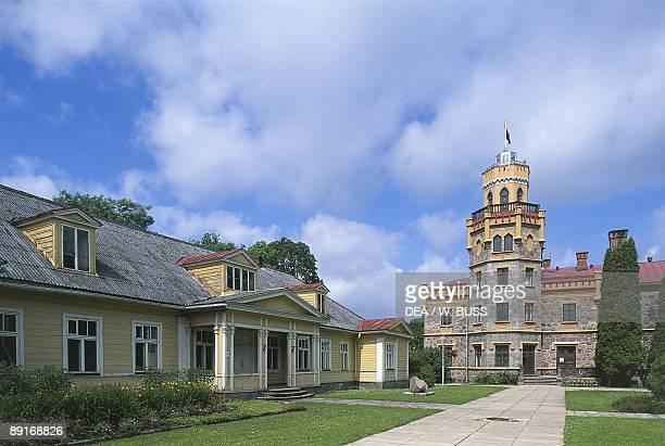 Latvia Vidzeme region Sigulda New Palace