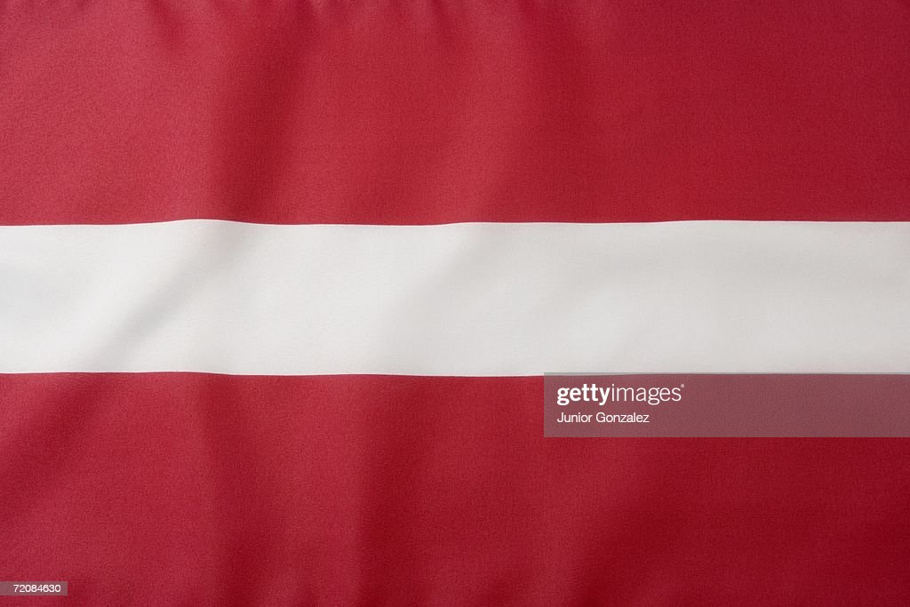 Latvian Flag : Stock Photo