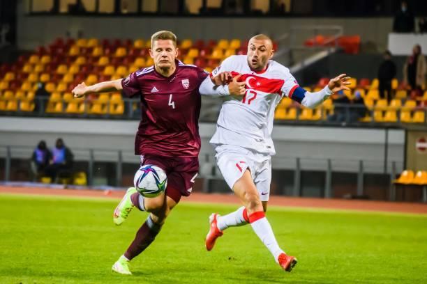 UNS: Latvia v Turkey - 2022 FIFA World Cup Qualifier