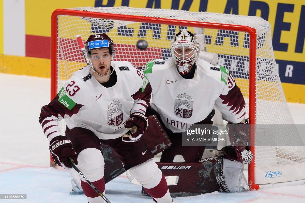SVK: Norway v Latvia: Group B - 2019 IIHF Ice Hockey World Championship Slovakia