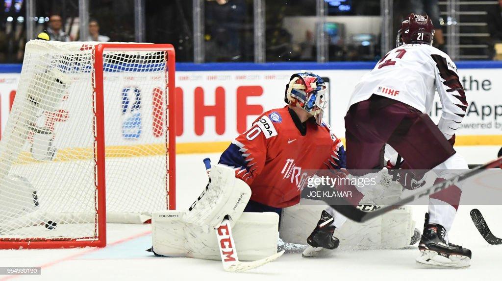 Norway v Latvia - 2018 IIHF Ic...