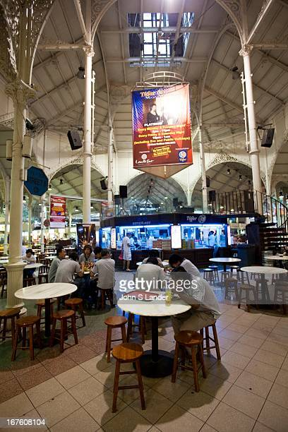Lau Pa Sat formerly known as Telok Ayer Market stands out as one of Singapore's premier hawker centres Dating back to 1822 it occupies a majestic...