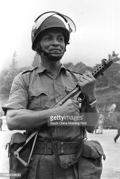 Lau Wah a soldier of the Royal Hong Kong Regiment 19APR78