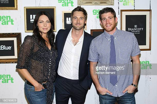 "Laua Prepon, Ryan Eggold and Bryan Greenberg attend the 17th Annual GenArt Film Festival Closing Night Premiere of ""The Kitchen"" at School of Visual..."