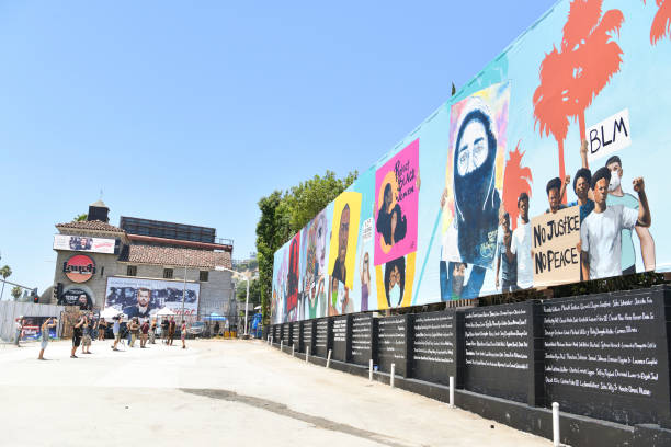 CA: Laugh Factory To Unveil 148-Foot Mural Dedicated To Black Lives Matter