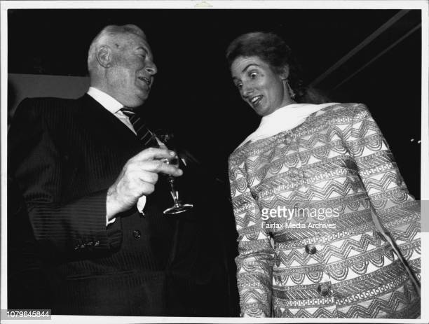 Laugh of the Christion DoirGough Whitlam amp Annita Keating at the Christian Doir lauch***** attended by Mr Whitlam and Mrs KeatingAnnita Keating...
