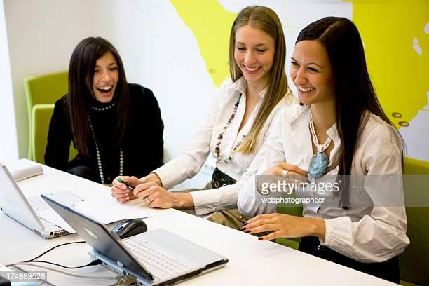 Laughing Businesswomen