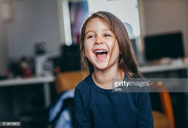 Laughing Child Portrait