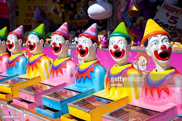 Laughing Clown Carnival Game
