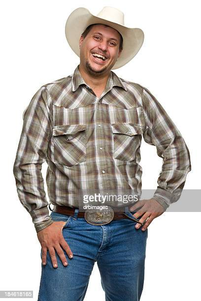 laughing cowboy - belt stock pictures, royalty-free photos & images