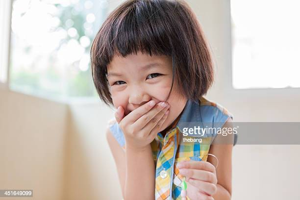 laughing girl - very young thai girls stock photos and pictures