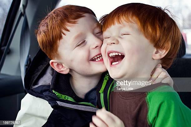 Laughing Hug