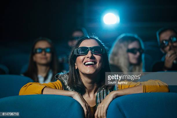 Laughing in the theater