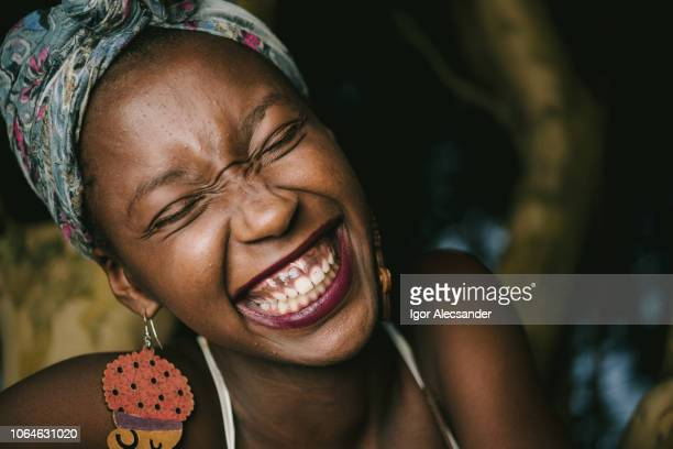 laughing is the best of life - nigeria stock pictures, royalty-free photos & images