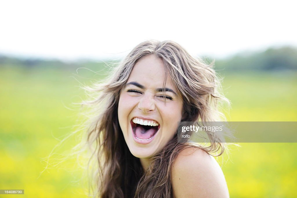 Laughing : Stock Photo