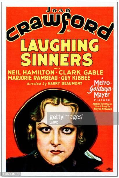 Laughing Sinners poster Joan Crawford 1931