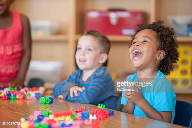 laughing together in class - black people laughing stock photos and pictures