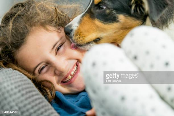 Laughing with the Dog