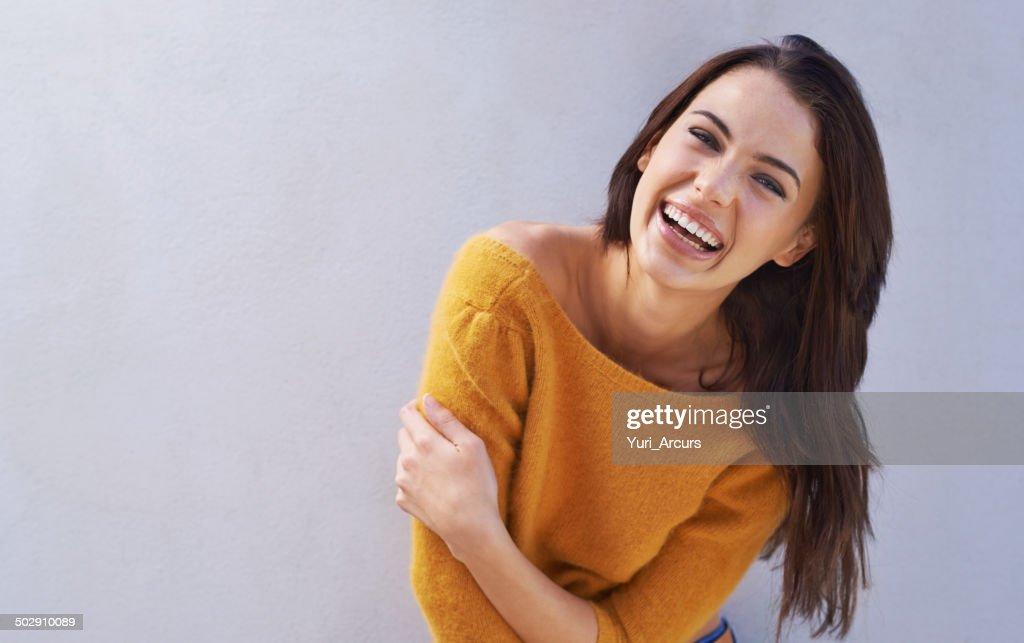 Laughs are fun : Stock Photo
