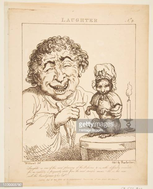 Laughter January 21 1800 Artist Thomas Rowlandson