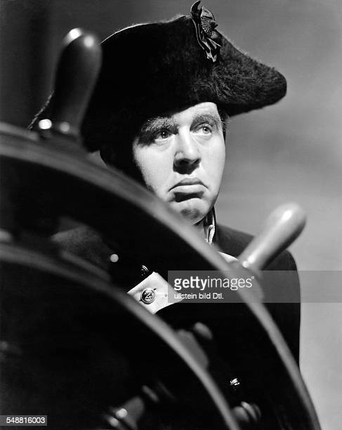 Laughton Charles actor GB *01071899 in the role as the Captain William Bligh in the film Mutinity on the Bounty Directed by Frank Lloyd USA 1935/36...