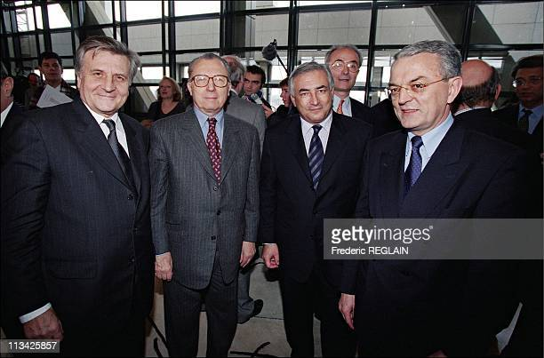 Launch 'Euro' A Bercy On January 4th 1999 In ParisFrance