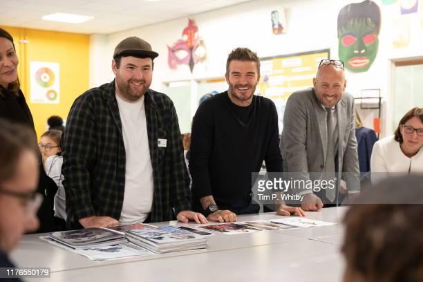 BFC launch fashion studio apprenticeship with ambassadorial president David Beckham and designers including Richard Quinn at Prendergast Vale School...